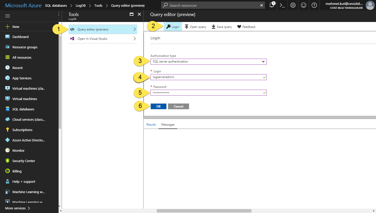 SQL Azure CRUD operations with Azure Functions · MK